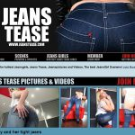 Discount Jeans Tease Offer