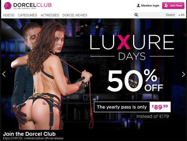 Dorcel Club Free Password