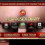 Free Asian Sex Diary User