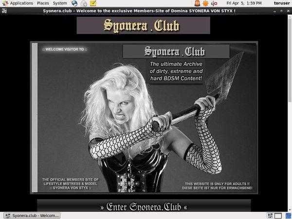 Syonera Club New Discount