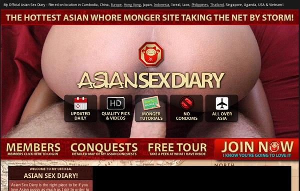 Asiansexdiary.com Password Dump