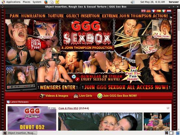 Gggsexbox.com Discount Save 50%