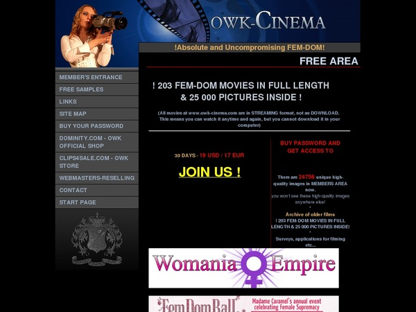 Deal Owk-cinema.com