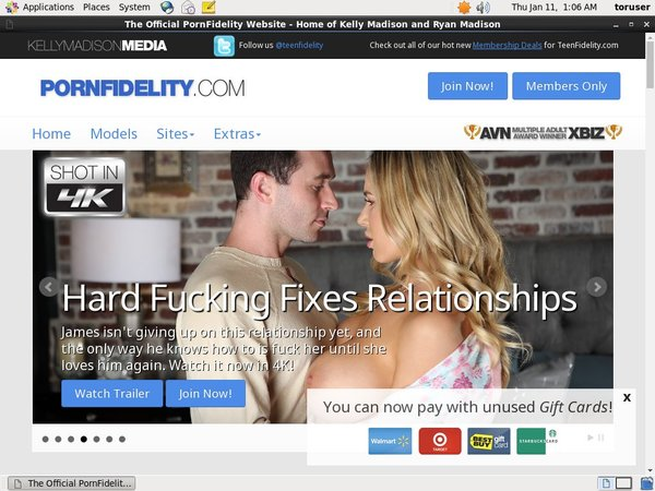 Porn Fidelity With Canadian Dollars