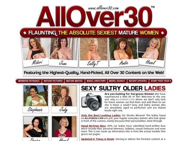 Allover30.com Check Out