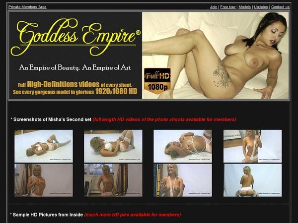 New Goddess Empire Porn