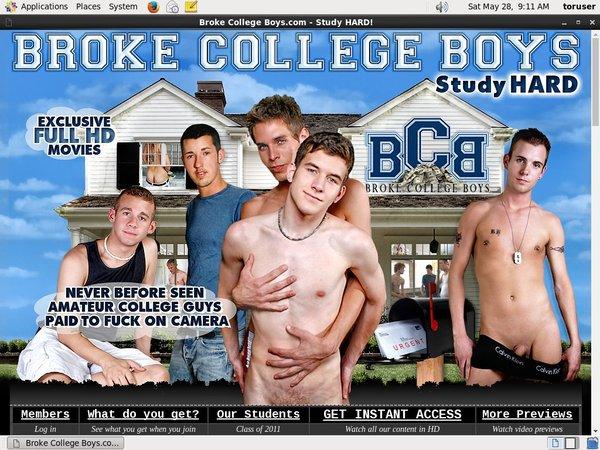 Accounts Free Broke College Boys